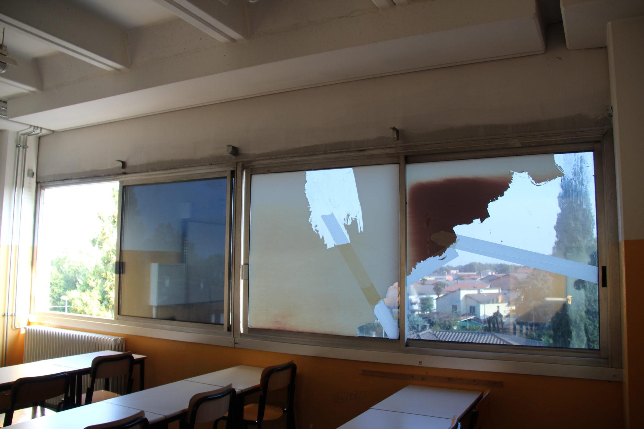 pellicole controllo solare scuola